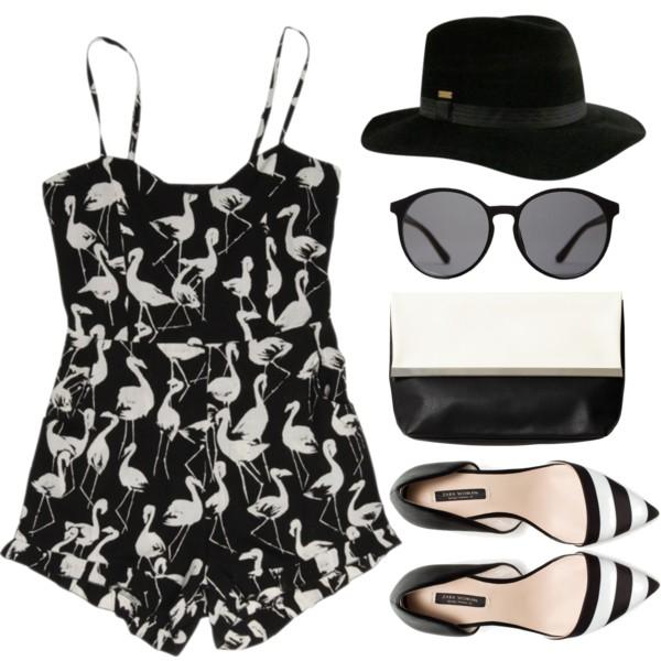 stylish ways to wear a romper playsuit 3