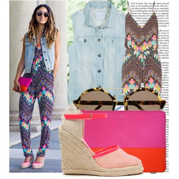 stylish ways to wear a romper playsuit 8