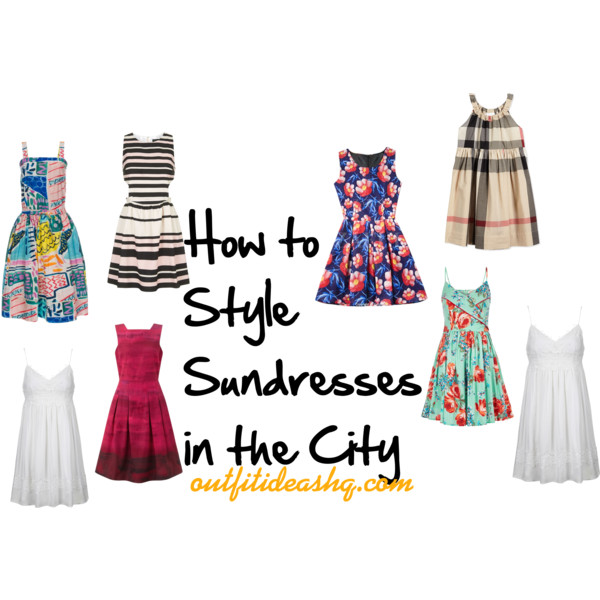sundress in the city outfit ideas 11