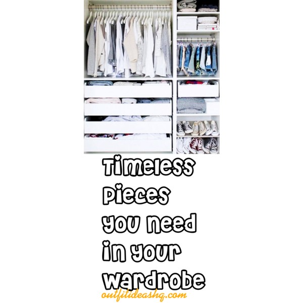wardrobe closet essentials must haves 12