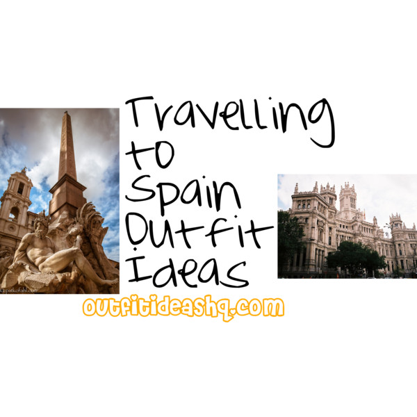 what to wear to spain trip outfit ideas 12