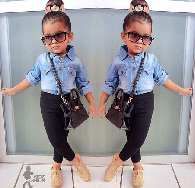 cute little girl everyday outfit ideas 1