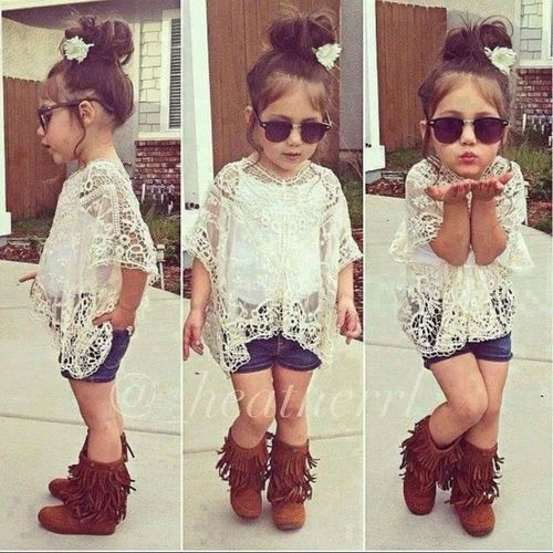 cute little girl everyday outfit ideas 6