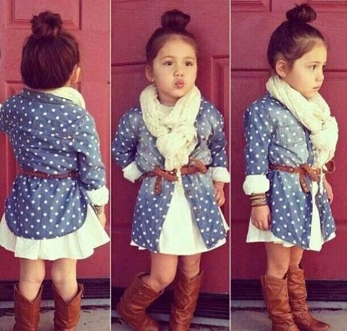 cute little girl everyday outfit ideas 7