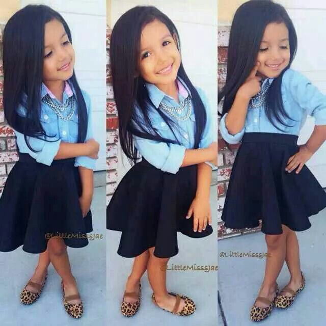 cute little girl everyday outfit ideas 8