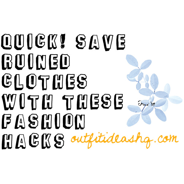 fashion hacks 12