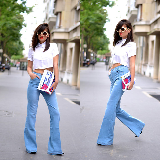 outfit ideas for flare jeans 2