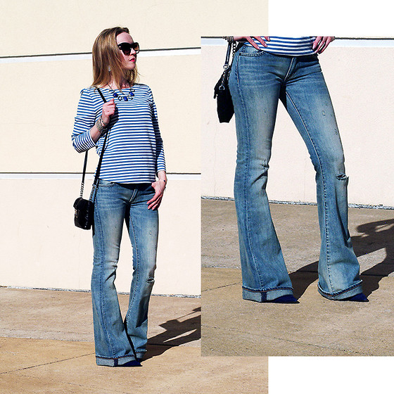 Outfit Ideas with Flare Jeans - Outfit Ideas HQ