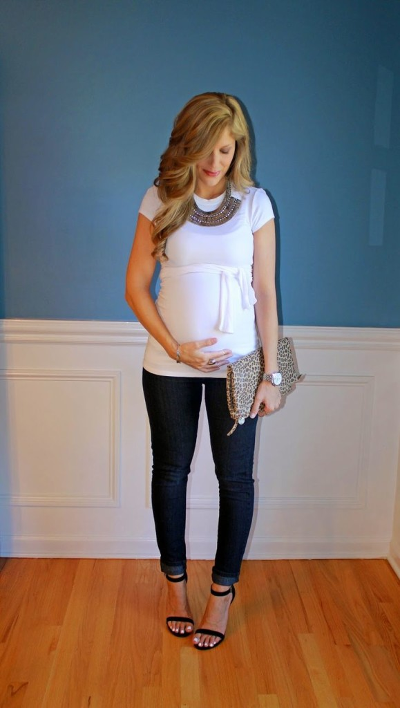 outfit ideas for pregnant women 3