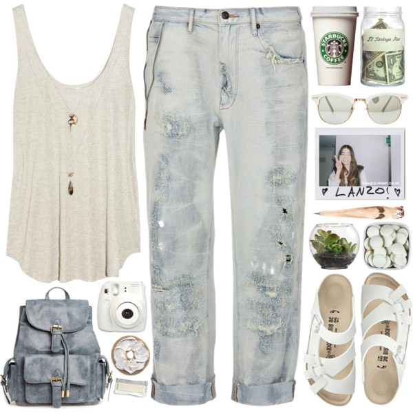 outfit ideas with birkenstocks 10