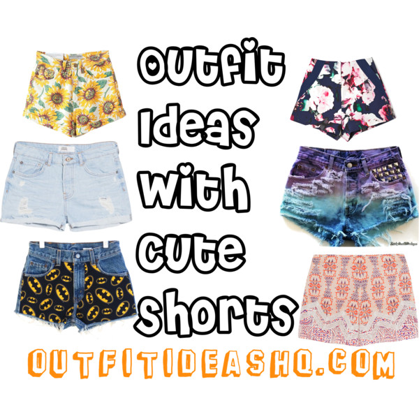 outfit ideas with cute shorts 11