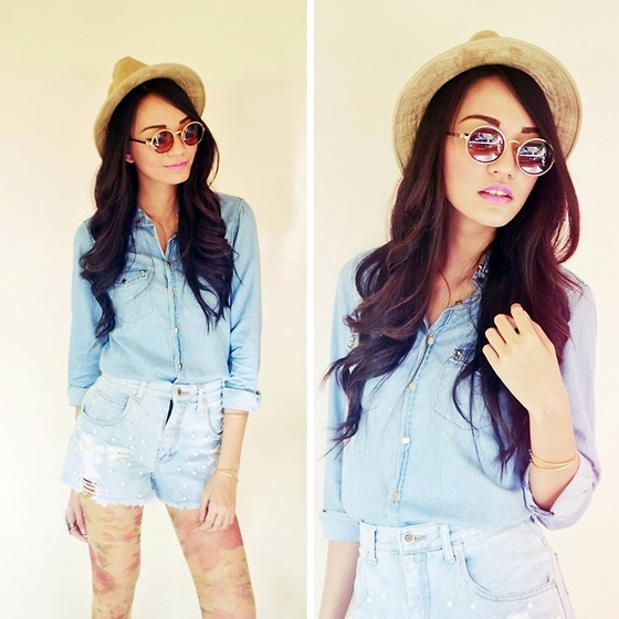 outfit ideas with cutoffs for spring and summer 10