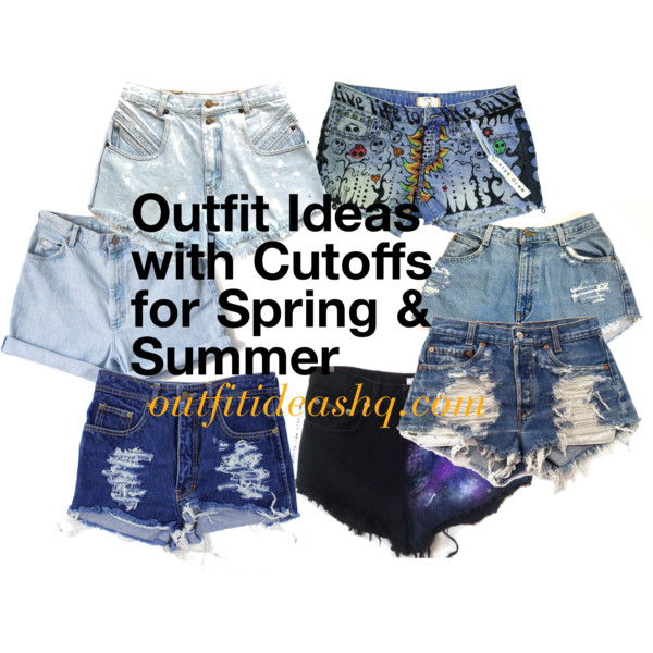 outfit ideas with cutoffs for spring and summer 11