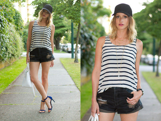 outfit ideas with cutoffs for spring and summer 3