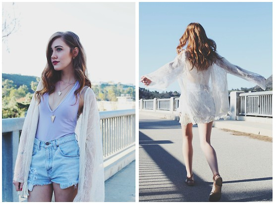 outfit ideas with cutoffs for spring and summer 5