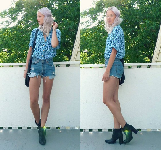 outfit ideas with cutoffs for spring and summer 7