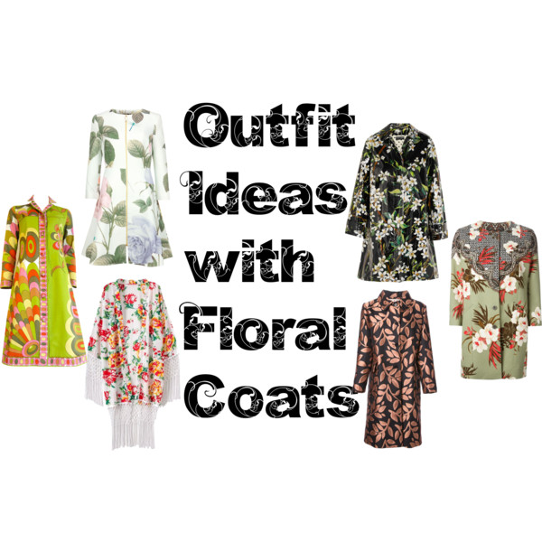 outfit ideas with floral coats 11