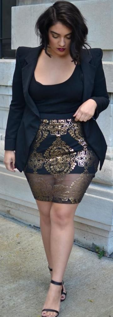 plus size party outfit ideas 2