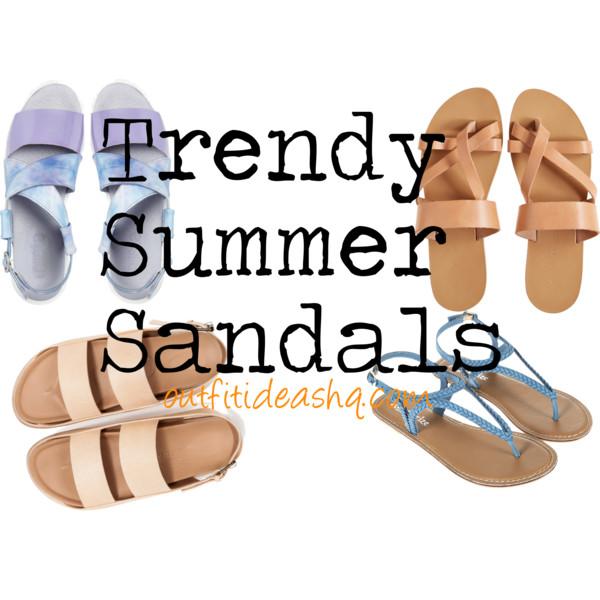 trendy summer sandals 12