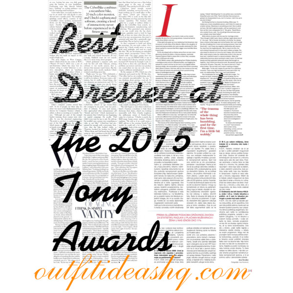 best dressed at the 2015 tony awards 12