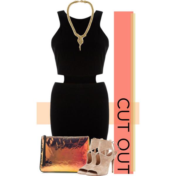 cutout dresses outfit ideas 10