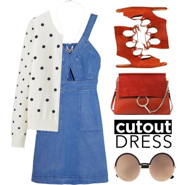 cutout dresses outfit ideas 5