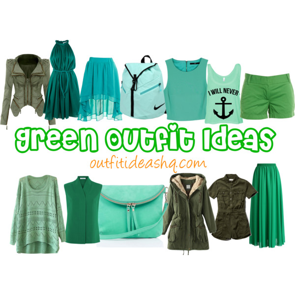 green outfit ideas 11