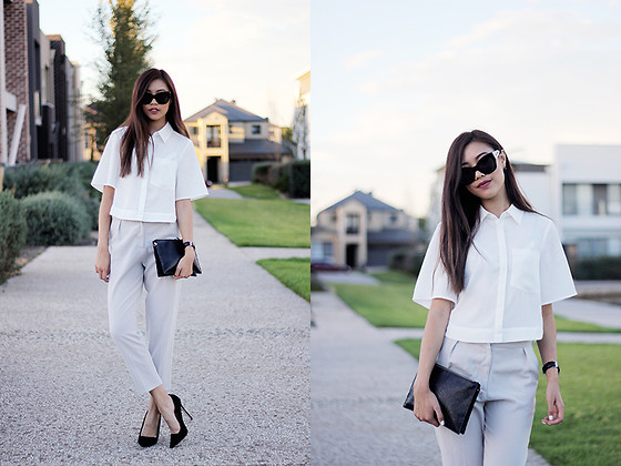 monotone outfit ideas 3