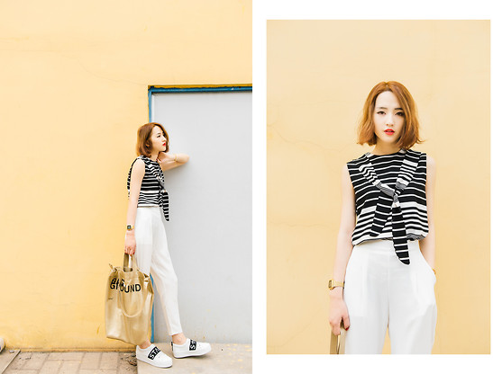 monotone outfit ideas 4