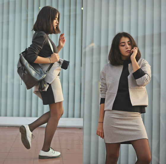 monotone outfit ideas 8