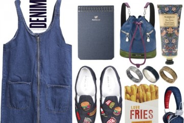 outfit ideas with denim dress 3