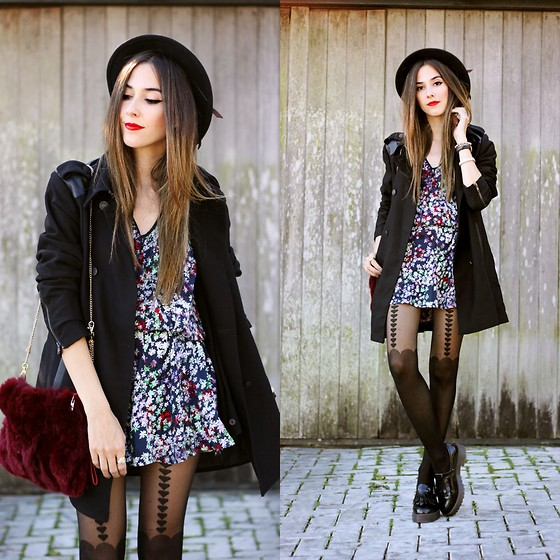 outfit ideas with hosiery 5