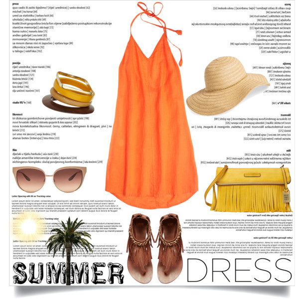 outfit ideas with orange dresses 6