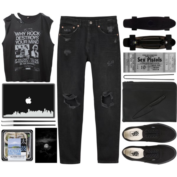 skater chic outfit ideas 5
