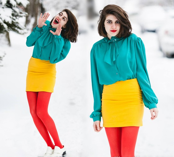 yellow outfit ideas 2