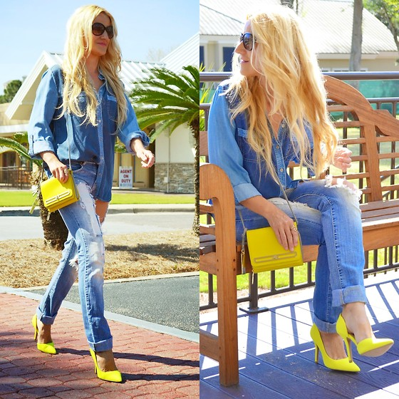 yellow outfit ideas 5