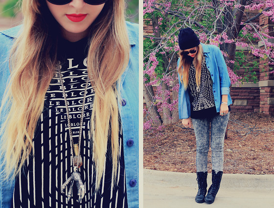 cool ways to wear a band shirt 3