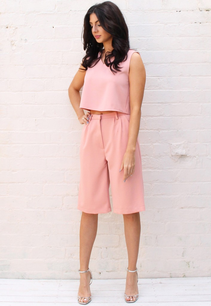 crop top + culottes outfit ideas 4