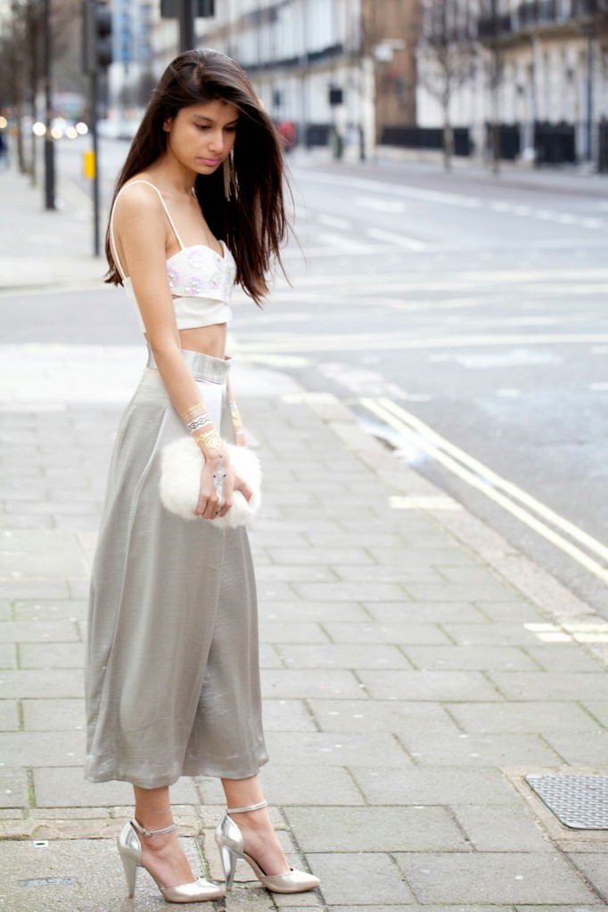 crop top + culottes outfit ideas 6