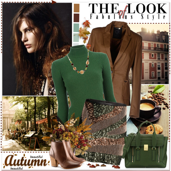 c83b5476 fall outfit ideas with sequined skirts 4 - Outfit Ideas HQ