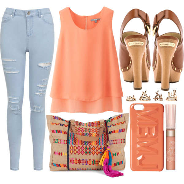 outfit ideas with a layered tank top 5