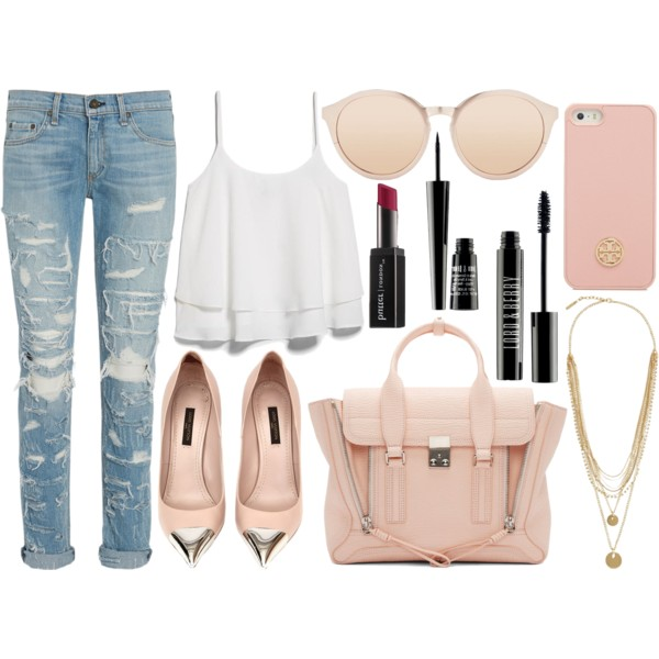 outfit ideas with a layered tank top 7
