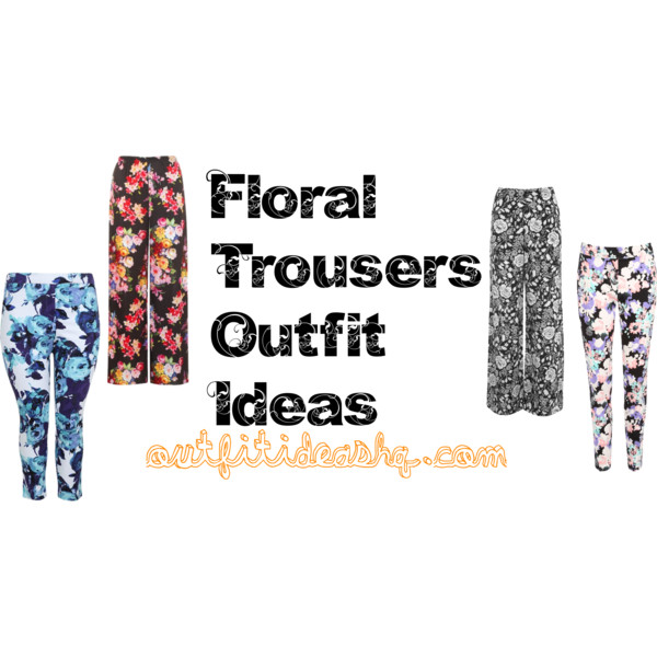 outfit ideas with floral trousers 11