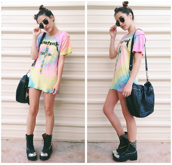 outfit ideas with tie dyes 7