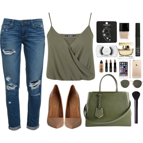 outfit ideas with wrap crop tops 1