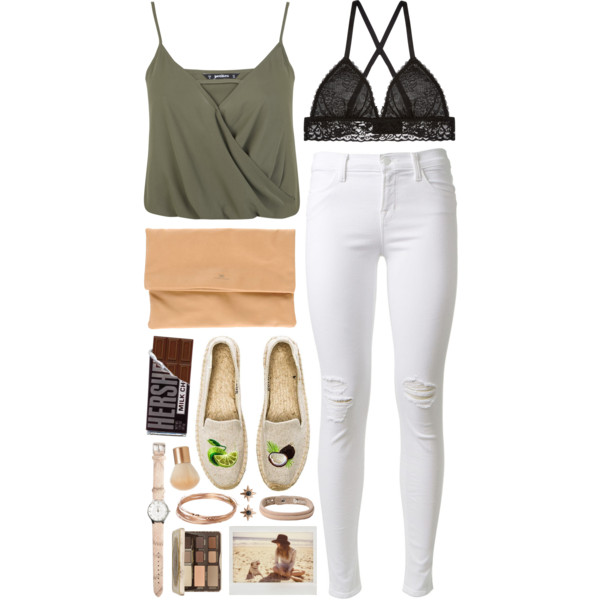 outfit ideas with wrap crop tops 7
