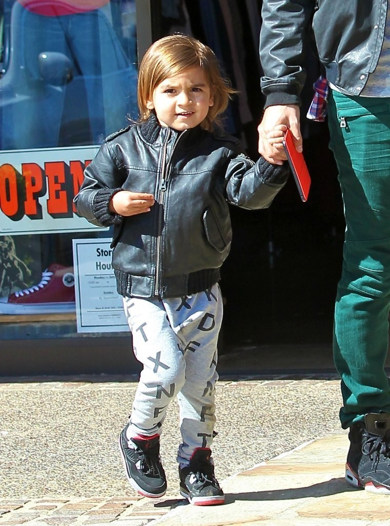 stylish hollywood kids 9