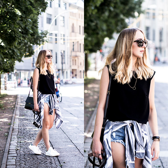 trendy black and white outfit ideas 4