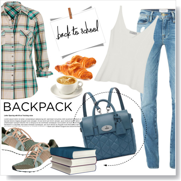 back to school outfit ideas with a cute backpack 1