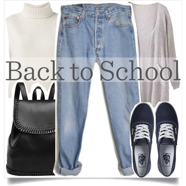 back to school outfit ideas with a cute backpack 2